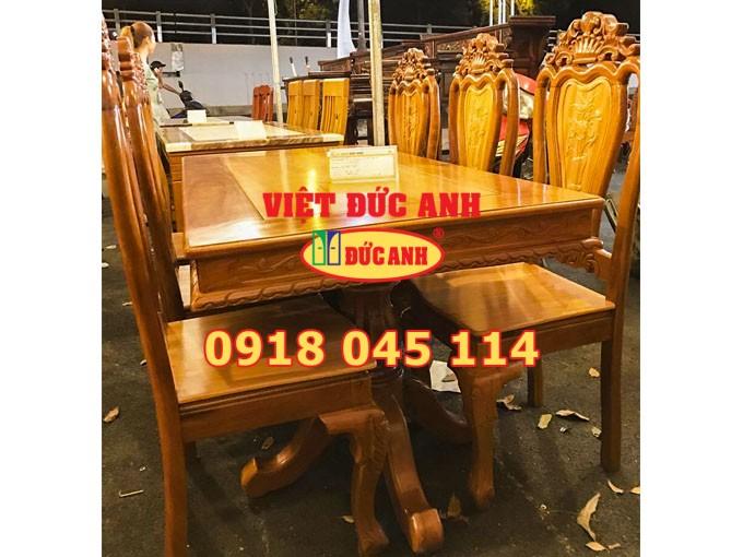 Bàn ghế gỗ 10