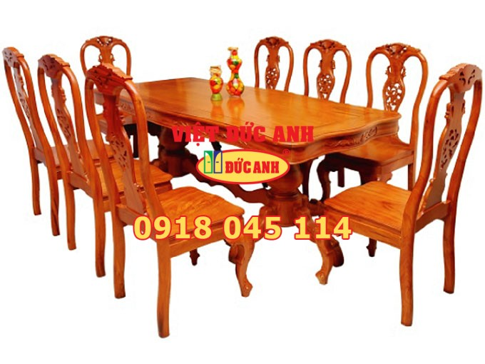 Bàn ghế gỗ 18