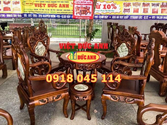 Bàn ghế gỗ 4