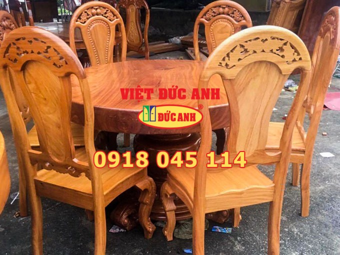 Bàn ghế gỗ 5
