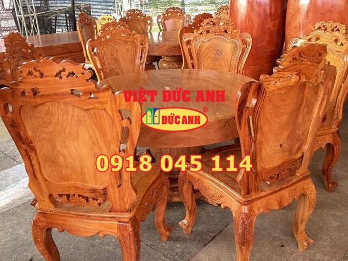 Bàn ghế gỗ 6