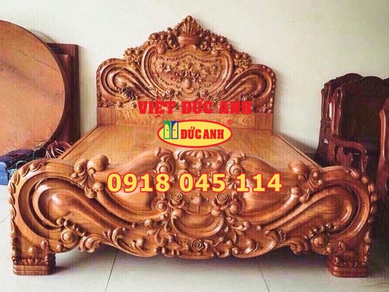 Giường gỗ 16