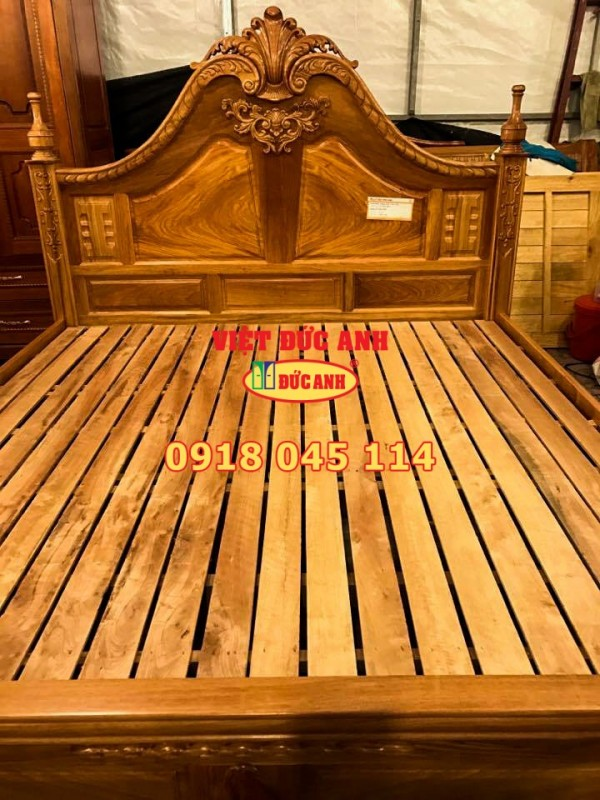 Giường gỗ 4