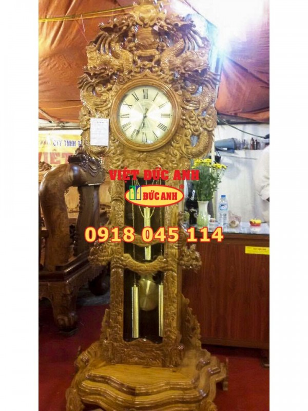 Đồng hồ gỗ 4