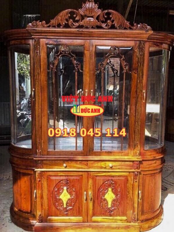 Tủ rượu gỗ 5
