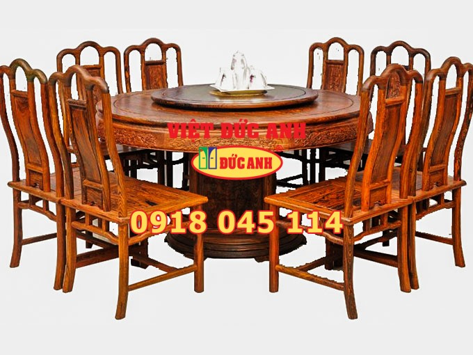 Bàn ghế gỗ 8